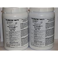 CHLORINE WELL/POOL SANITIZER PELLETS (2x) PENTAIR LP-3000 LANDOMATIC DRY CHLORINATOR