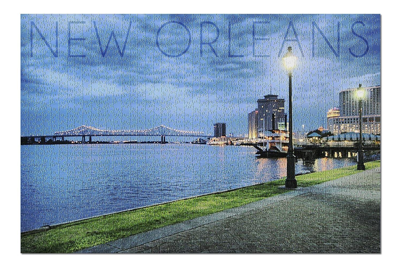 最も完璧な ニューオーリンズ、ルイジアナ州 – City and B076PTPHWF Bridge at ) Night ( Bridge 20 x 30プレミアム1000ピースジグソーパズル、アメリカ製。 ) B076PTPHWF, ガキカキ:0e706907 --- a0267596.xsph.ru