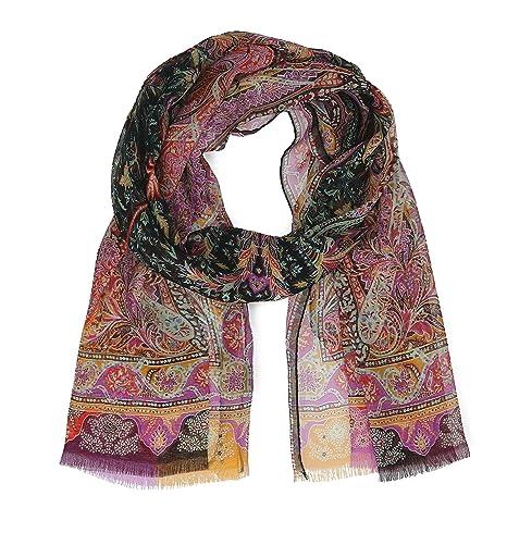 on sale add48 40143 Etro Women's 100075615100 Pink Silk Foulard: Amazon.ca ...