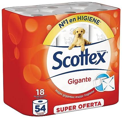 Scottex Gigante Papel Higiénico - 18 rollos