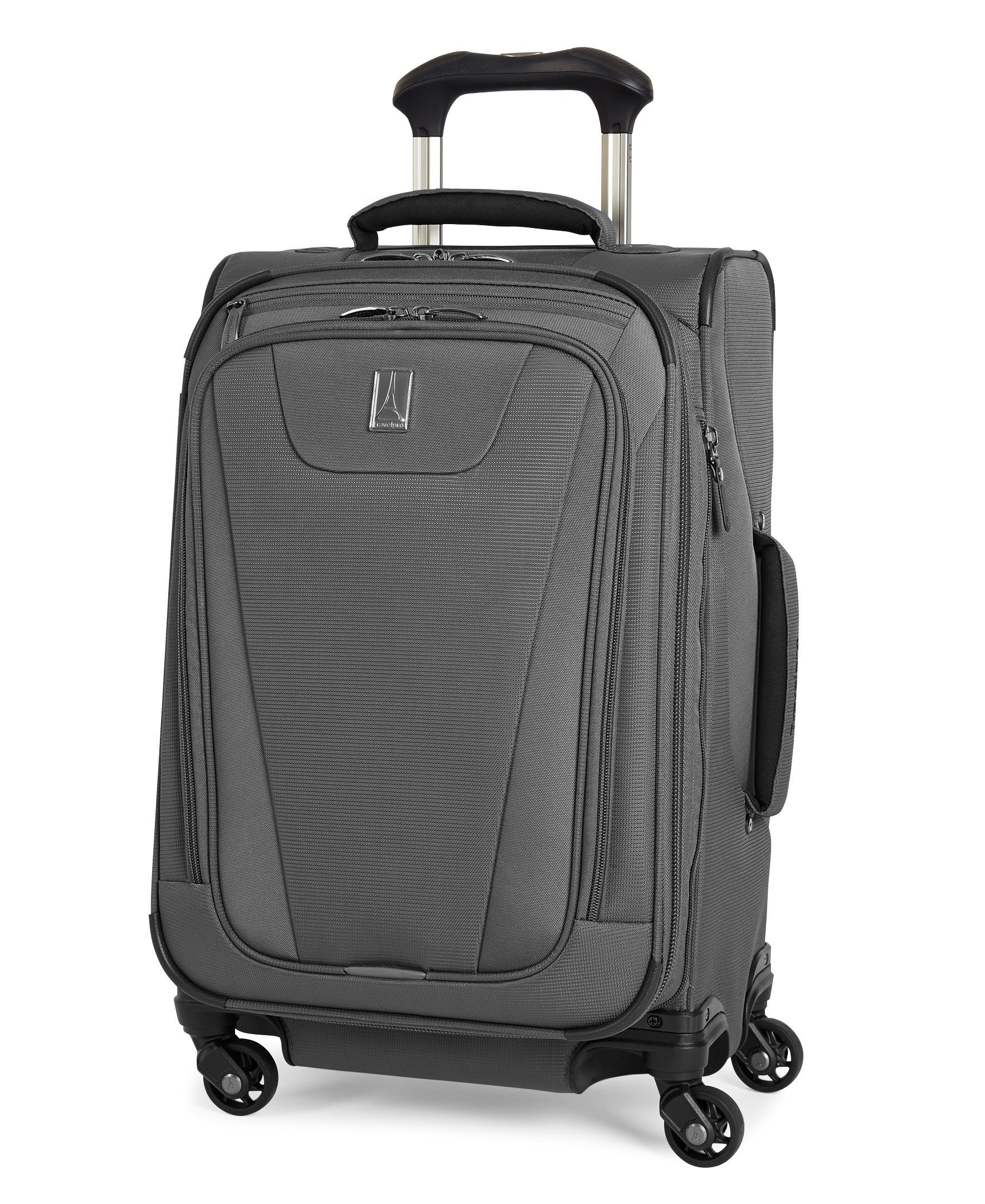 Travelpro Maxlite 4 Expandable 21 Inch Spinner Suitcase (Grey)