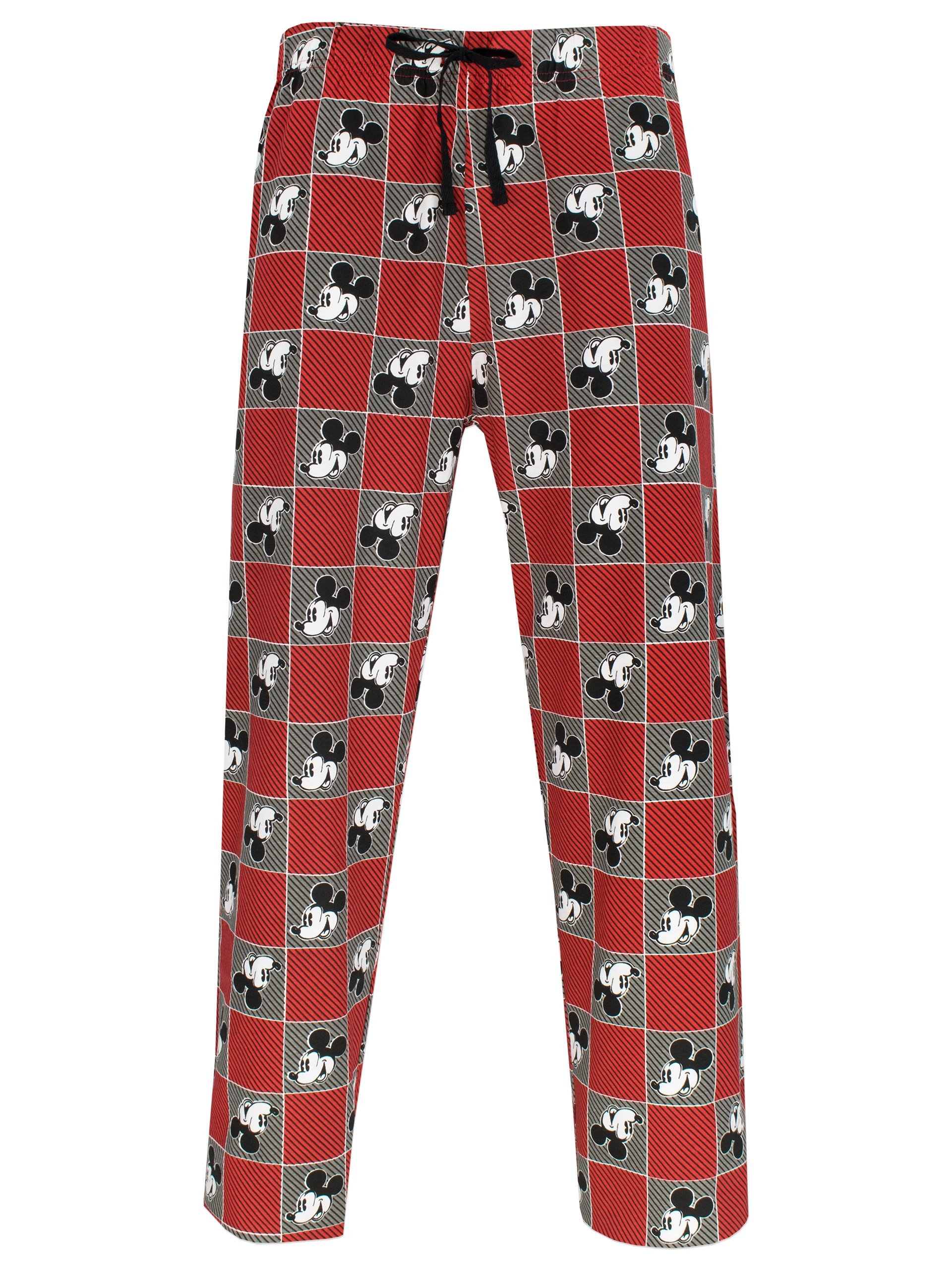 Disney Mickey Mouse Mens Mickey Mouse Lounge Pants Medium