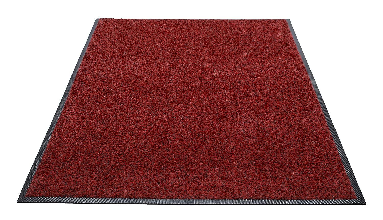 Rubber with Nylon Carpet Grey 4x4 Guardian Platinum Series Indoor Wiper Floor Mat
