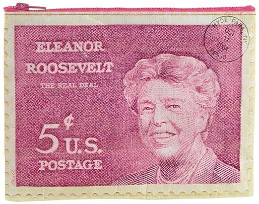 Amazon.com: Blue Q Eleanor Roosevelt Zipper Pouch: Arte ...