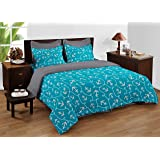 Bianca Bed in A Bag- 1 PC Double Bed Comforter,1 PC Double bedsheet, 2 PC Pillow Covers