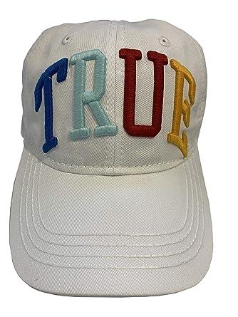ca1da7de Amazon.com: True Religion Unisex Colorful Logo Baseball Cap, Adult ...