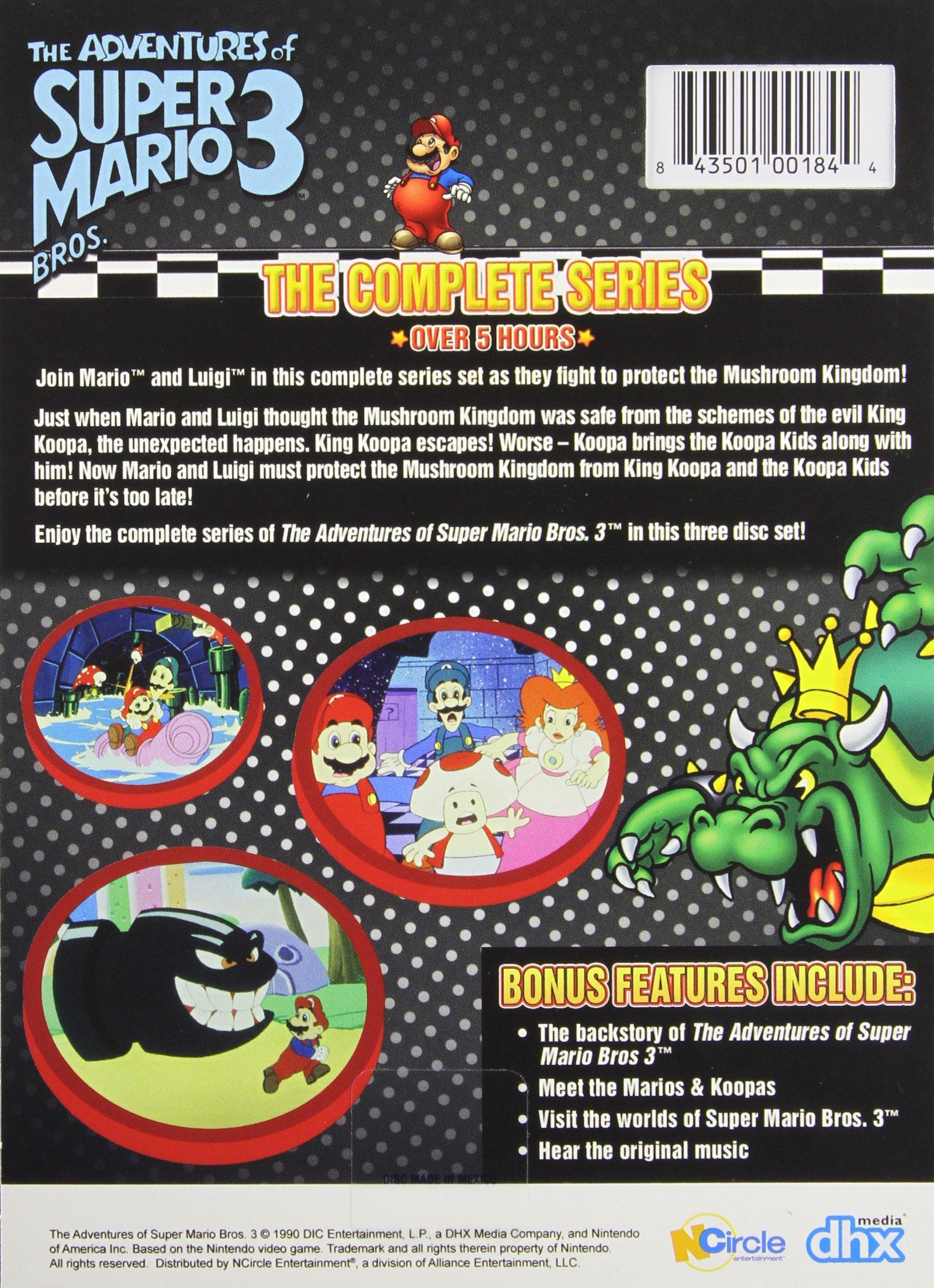 adventures of super mario bros 3