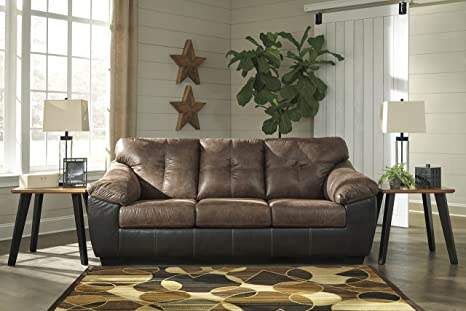 Amazon.com: Gregale Contemporary Coffee Color Microfiber ...