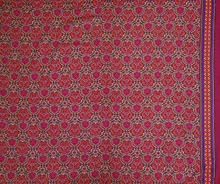 Knitwit Decorativo Floral Imprimir La elaboración de la India ...