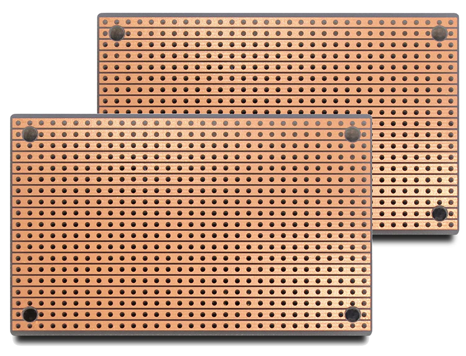 St1x2 Stripboard 2 Pack Industrial Scientific 10 Pcs 50mmx70mm Single Side Copper Cover Pcb Circuit Board