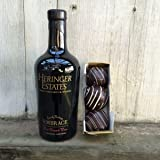 Heringer Estates Blended Port and Chocolate Truffle Bundle