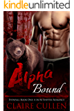 Alpha Bound: Evenfall Book One: A M/M Shifter Romance