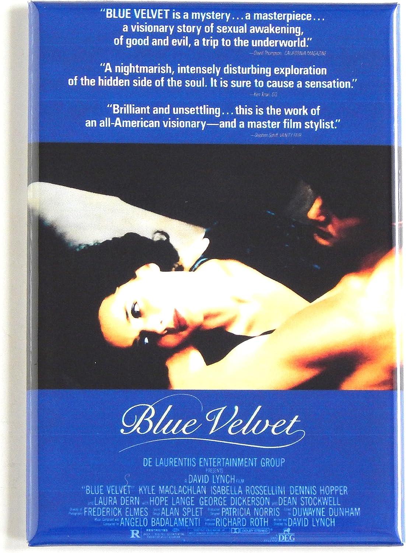 Blue Velvet Movie Poster Fridge Magnet (2.5 x 3.5 inches)
