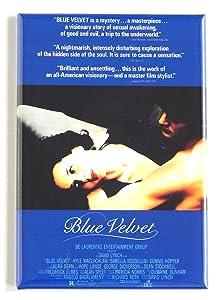 Blue Velvet Movie Poster Fridge Magnet (2 x 3 inches)