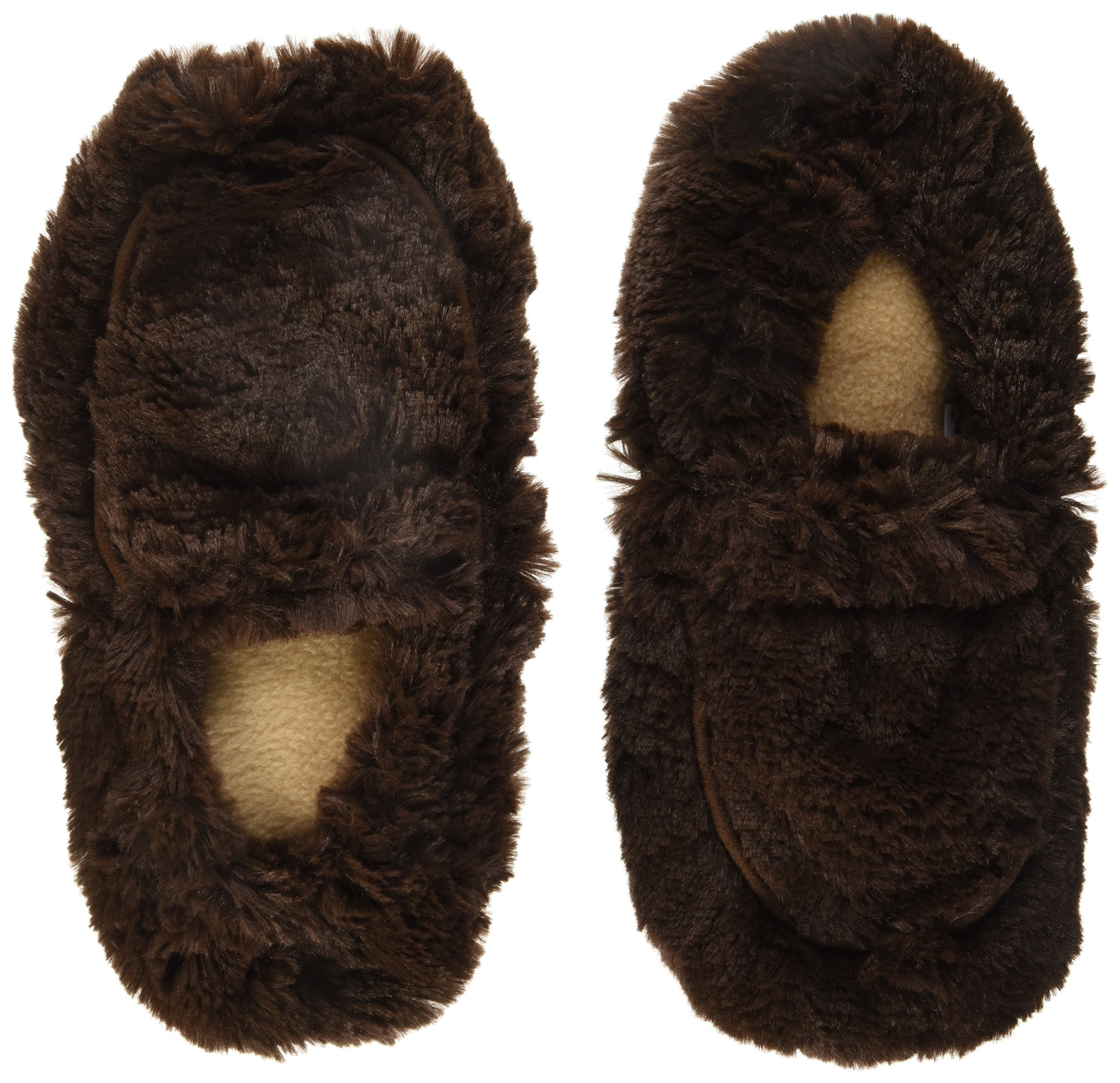 4afe5955f03 Amazon.com  Intelex Fully Microwavable Luxury Cozy Slippers Snowy ...