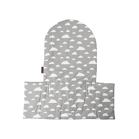 Puckdaddy Cojín nubes grises para trona Antilop de Ikea y ...