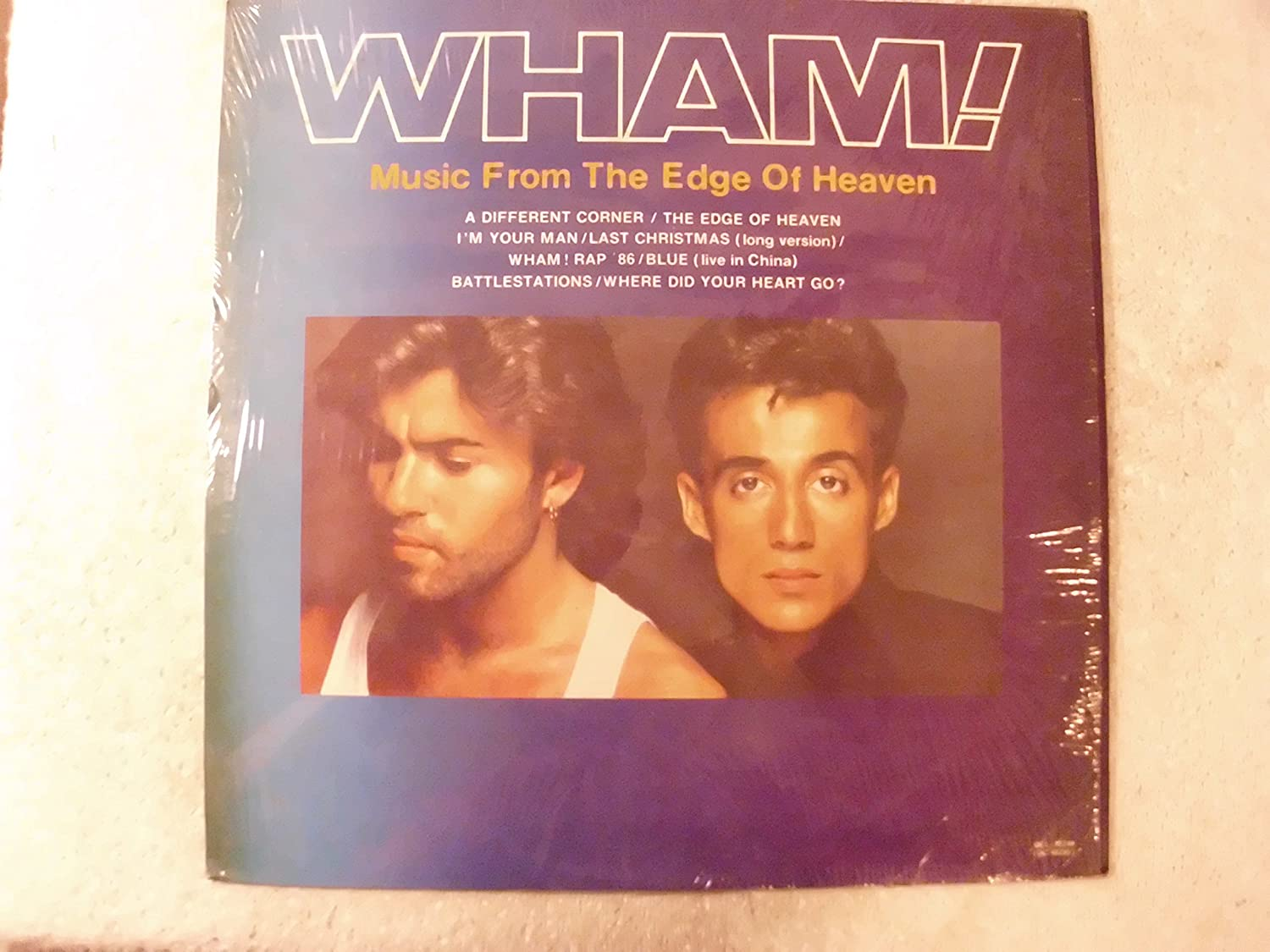 Whm - Music From The Edge Of Heaven Philippines Import LP