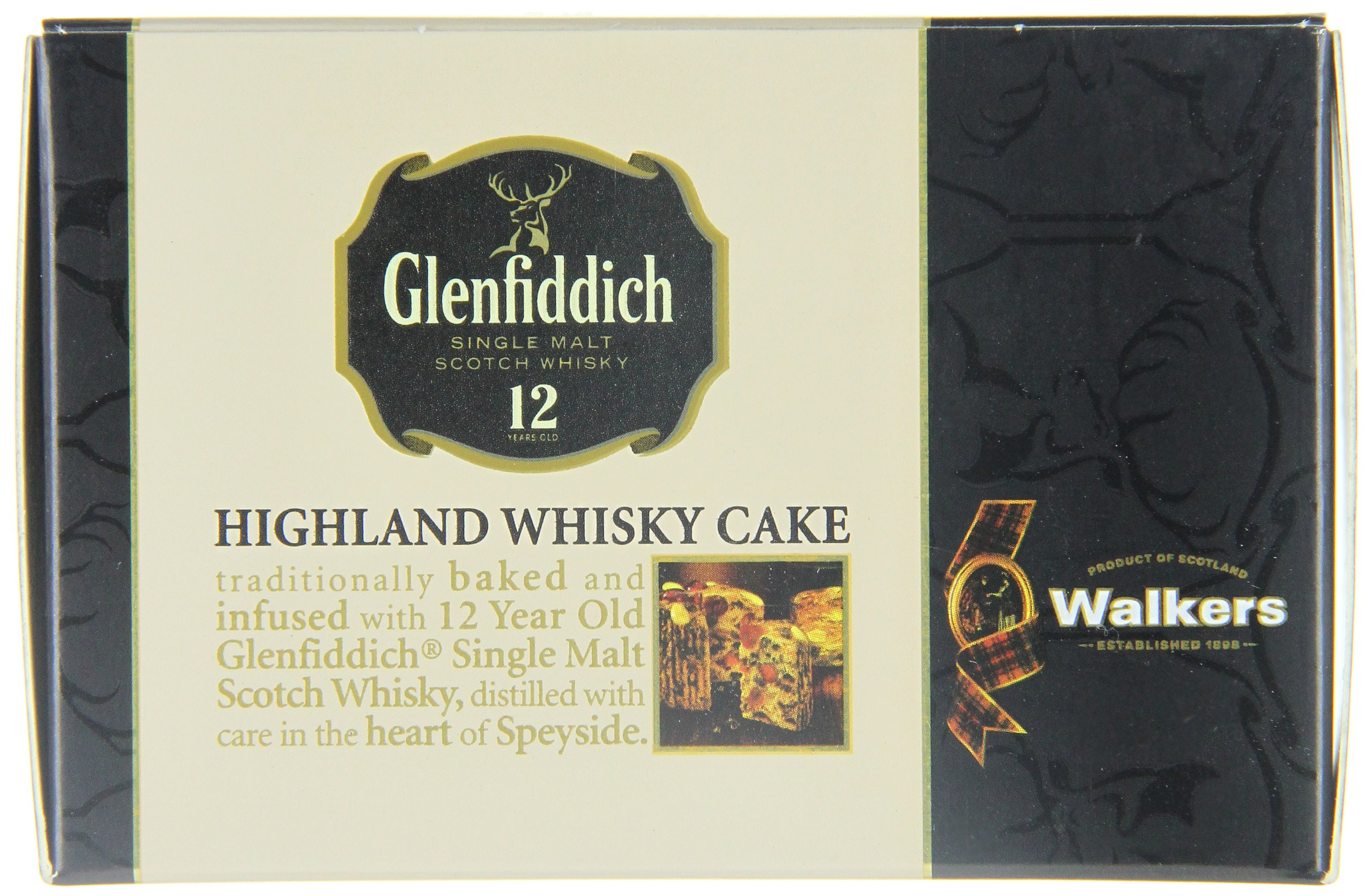 Walkers Shortbread Glenfiddich Highland Whisky Cake, 14.1 Ounce Box Traditional Scottish Fruit Cake with Glenfiddich Malt Whisky, Cherries, Sultanas by Walkers Shortbread (Image #8)