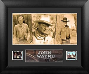 Trend Setters John Wayne Cowboy Two-Clip Framed Film Cell, Mini