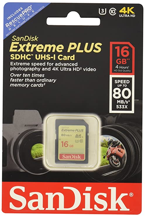Amazon.com: SanDisk Extreme Tarjeta de memoria SDXC de clase ...