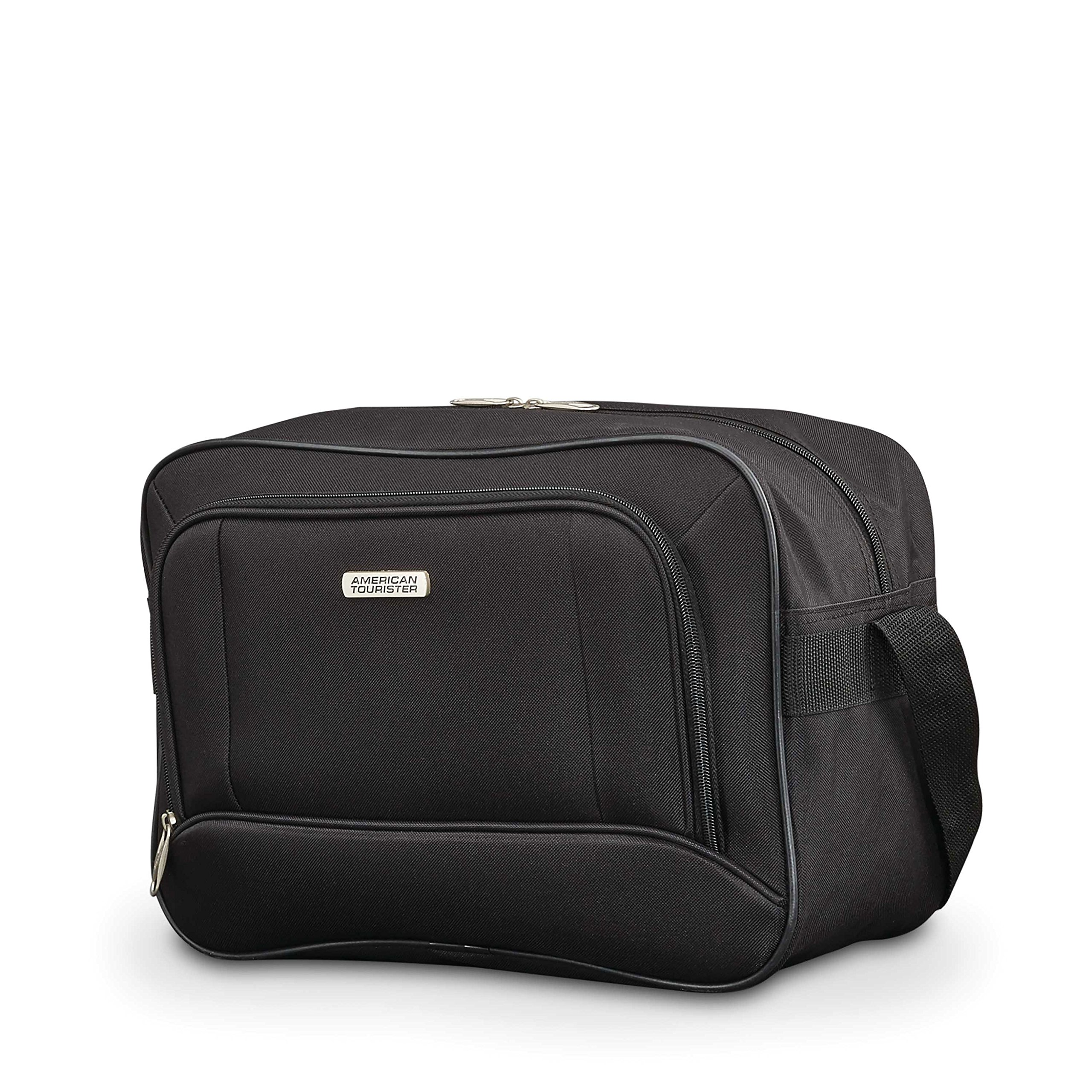 American Tourister Fieldbrook Xlt 4pc Set (Bb/Wh Dfl/ 21/25 Upright), Black by American Tourister (Image #3)