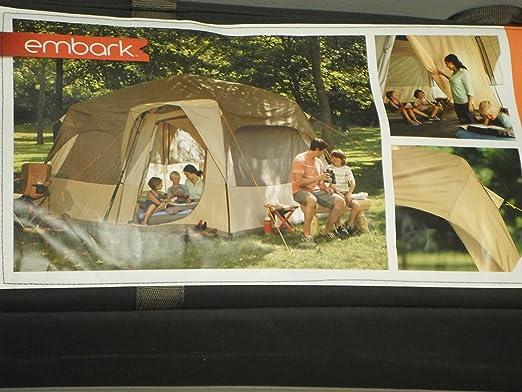 & Amazon.com : Embark 10-person Instant Cabin Tent : Sports u0026 Outdoors