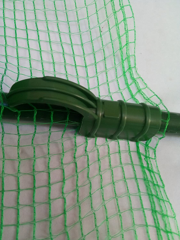 Cañas y accesorios recubiertos de plástico de 16 mm, soportes ...
