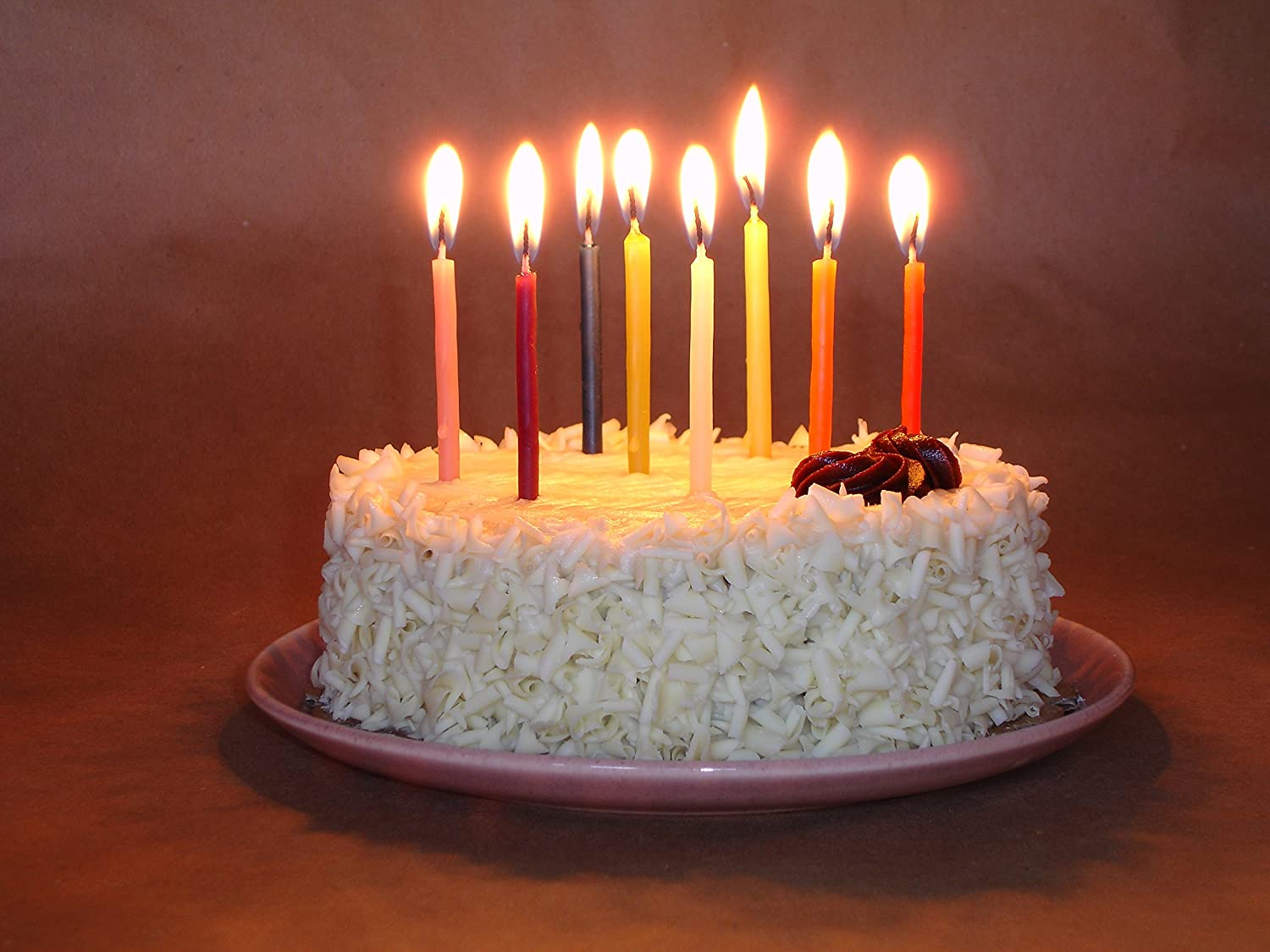 Amazoncom Bday 24 Pure Beeswax Birthday Candles Natural Ivory