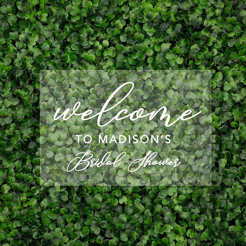 Welcome Sign Bridal Shower sign Acrylic decor baby shower wedding CUSTOM