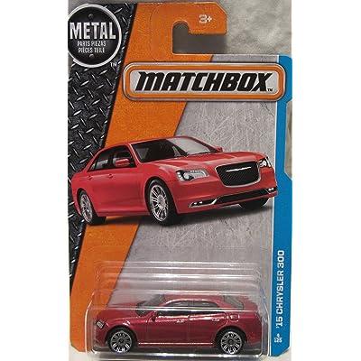 Matchbox, 2016 MBX Adventure City, '15 Chrysler 300 [Red] #4/125: Toys & Games