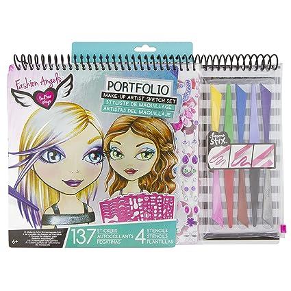 Buy Fashion Angels Make Up Artist Sketch Portfolio Set Online At Low