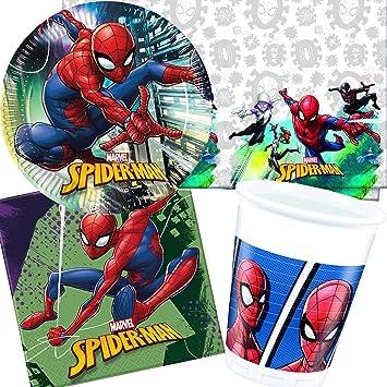 Procos/Carpeta de 62 Piezas Set de Fiesta * Spiderman Team ...