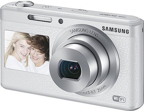 Samsung DV180F Smart-Digitalkamera 2,7 Zoll weiß: Amazon