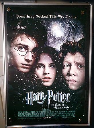 Harry Potter And The Prisoner Of Azkaban Original Double Sided