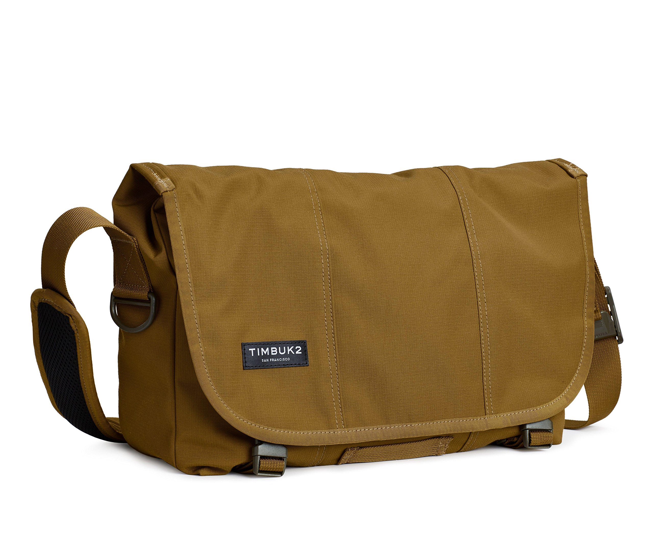 Timbuk2 Flight Classic Messenger Bag, Brass/Army, S, Brass/Army, Small