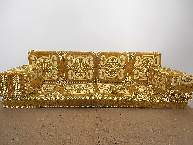 Attirant Oriental Seating Sofa,arabic Floor Sofa,arabic Sofa,arabic Furniture,floor  Seating