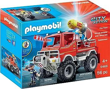 Citylife PLAYMOBIL 9466 Feuerwehr-Truck Playmobil