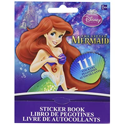 Disney Little Mermaid Sticker Booklet | Party Favor: Toys & Games