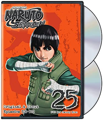 Naruto Shippuden Original Uncut Episodes  Dvd