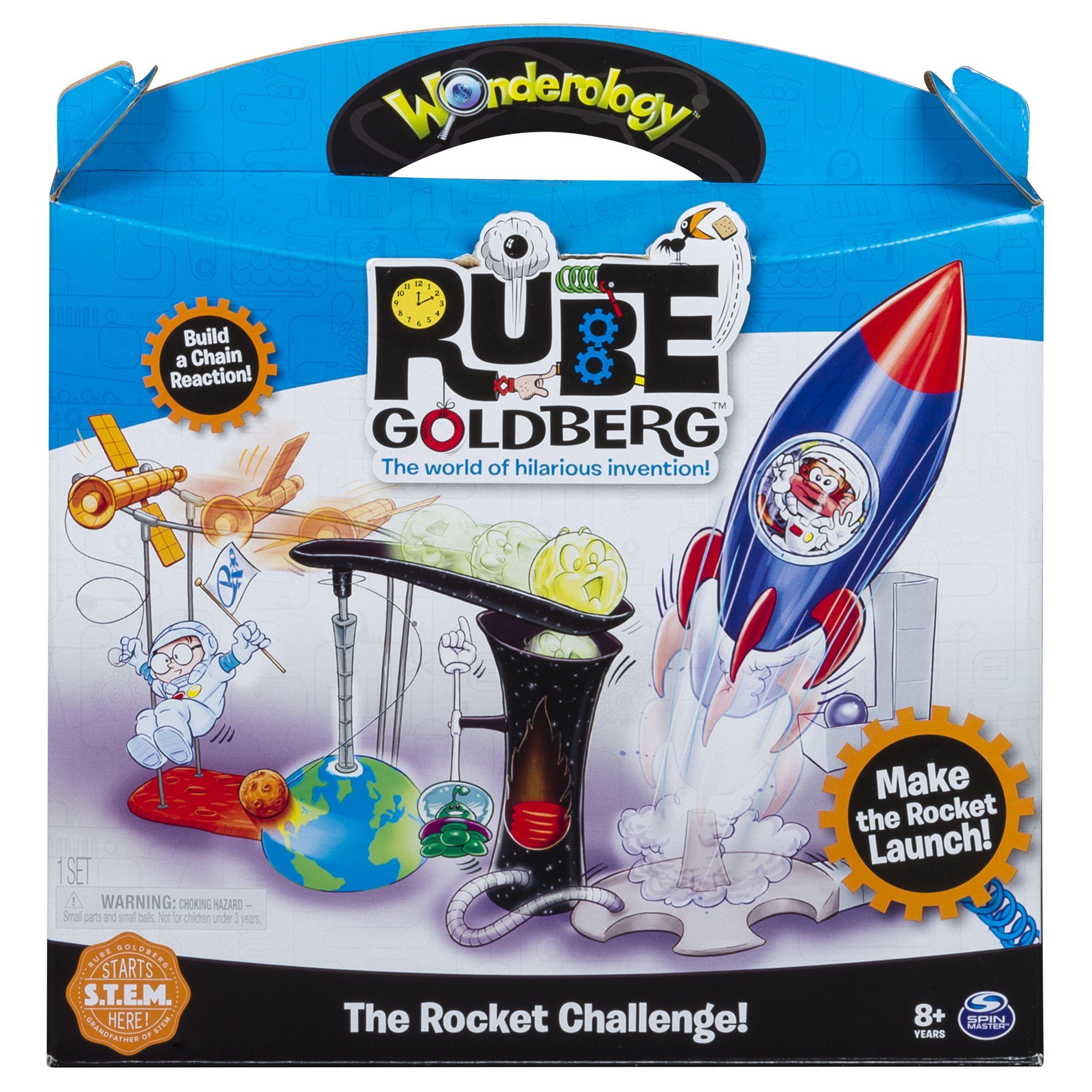 Rube Goldberg - The Rocket Challenge - Interactive S.T.E.M Learning Kit