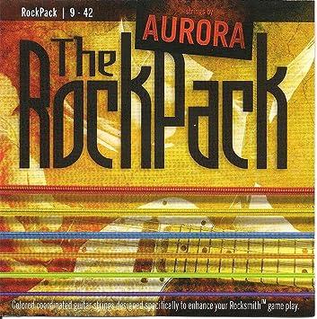 Aurora Rock Pack Cuerdas de guitarras eléctricas, multicolor, 9 - 42: Amazon.es: Instrumentos musicales