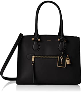 8717ee7f635 Aldo Women s Synthetic Pawpaw Shoulder Handbag Black  Amazon.in ...