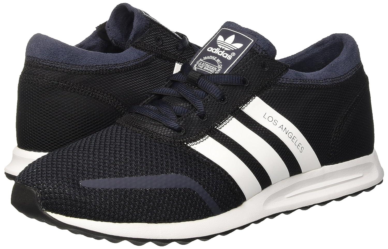 Adidas Originals hombre 's Los Angeles negro, blanco y azul de malla