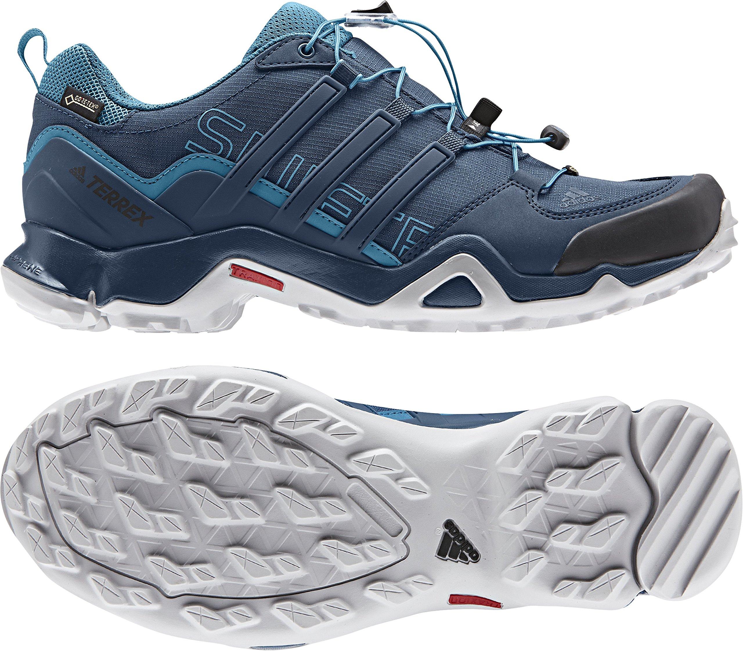 adidas outdoor Men's Terrex Swift R GTX Blue Night/Blue Night/Mystery Petrol Hiking Shoes - 10 D(M) US