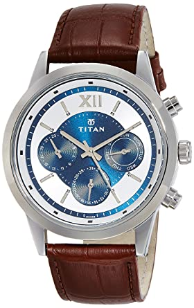 Neo Analog Blue Dial Men's Watch - 1766SL03