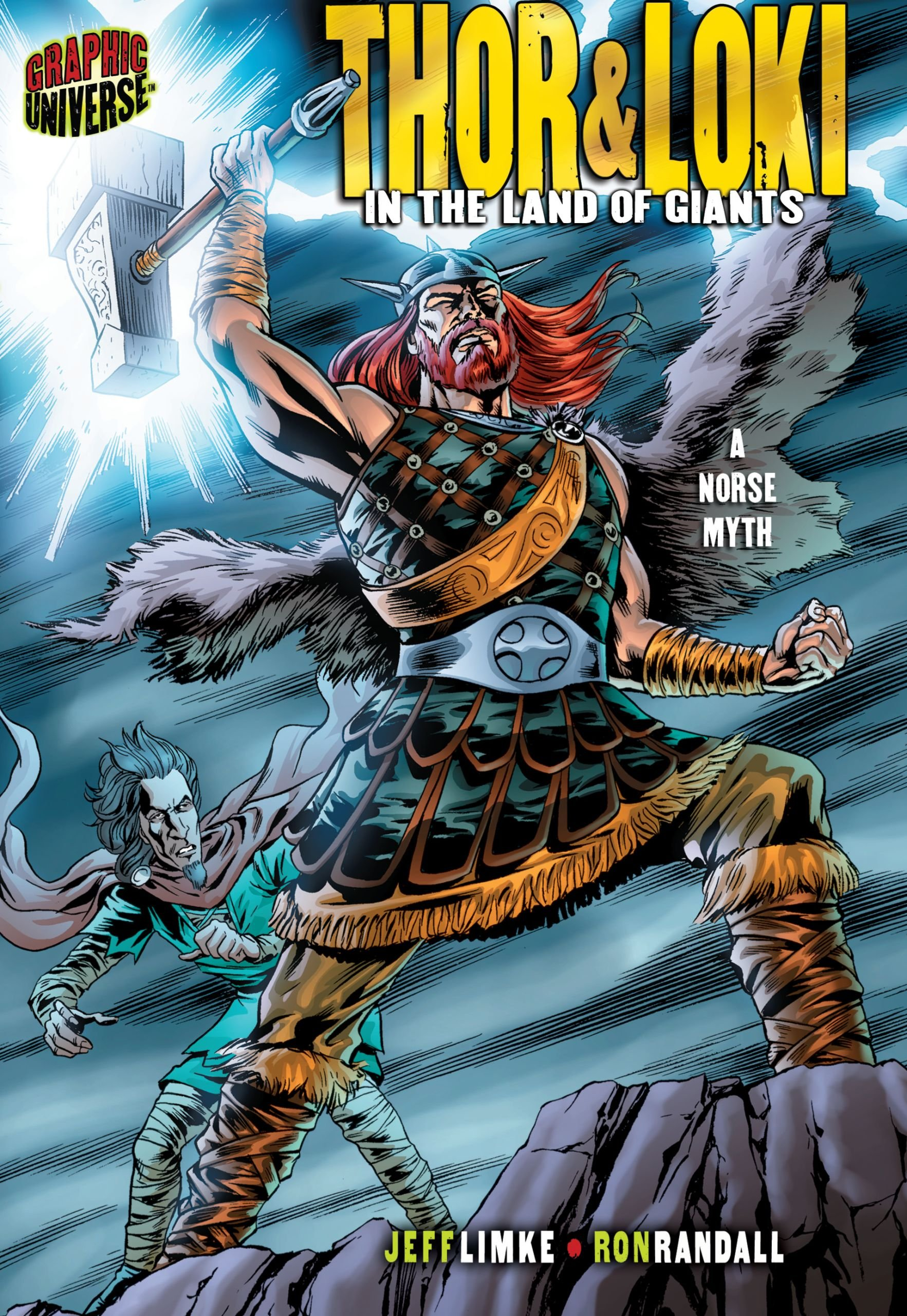 Thor & Loki: In the Land of Giants: A Norse Myth (Graphic Myths and Legends)