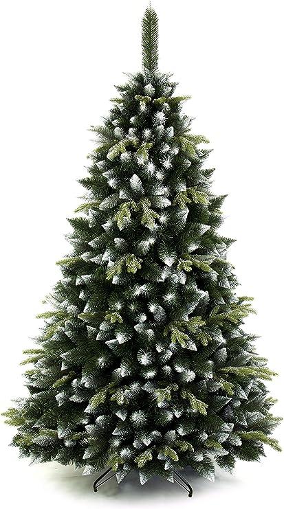 DWA ARBOL Navidad Grande en Caja, Bosque Tradicional Verde Lujo con Soporte (220 cm, Olive Pine): Amazon.es: Jardín