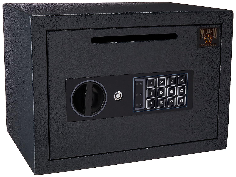 2 Doors Heavy Duty Steel Digital Safe Money Drop Box Lock Keypad Deposit Slot