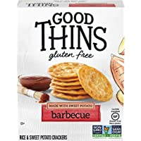 GOOD THINS Sweet Potato Barbecue Gluten Free Crackers 100 g (Pack of 1)