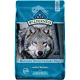 Blue Buffalo Wilderness High Protein, Natural Adult Large Breed Healthy Weight Dry Dog Food, Chicken 24-lb